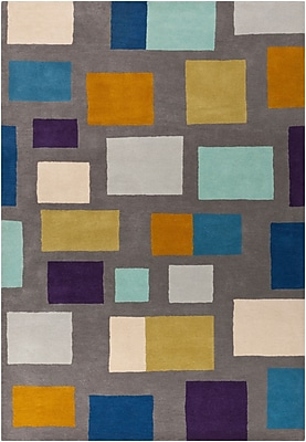 Surya Scion SCI14-811 Hand Tufted Rug, 8' x 11' Rectangle