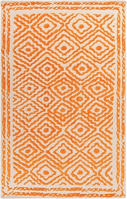 Surya Beth Lacefield Atlas ATS1003-58 Hand Knotted Rug, 5' x 8' Rectangle
