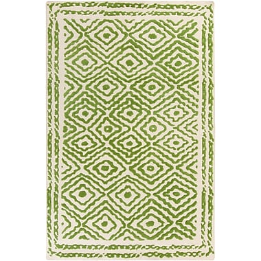 Surya Beth Lacefield Atlas ATS1009-58 Hand Knotted Rug, 5' x 8' Rectangle