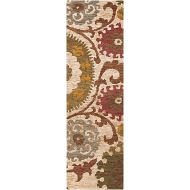 Surya Columbia CBA106-268 Hand Woven Rug, 2'6