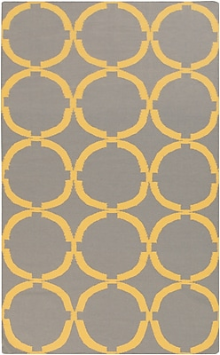 Surya Frontier FT499-58 Hand Woven Rug, 5' x 8' Rectangle