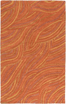 Surya Perspective PSV37-811 Hand Tufted Rug, 8' x 11' Rectangle