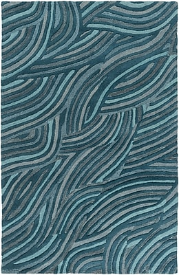 Surya Perspective PSV39-811 Hand Tufted Rug, 8' x 11' Rectangle