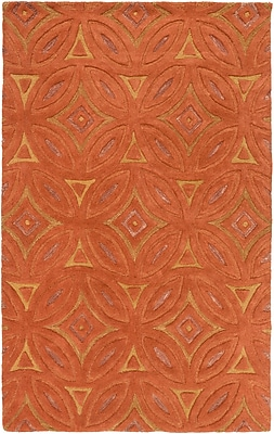 Surya Perspective PSV44-58 Hand Tufted Rug, 5' x 8' Rectangle
