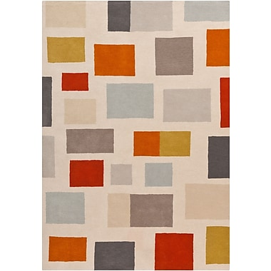Surya Scion SCI16-811 Hand Tufted Rug, 8' x 11' Rectangle