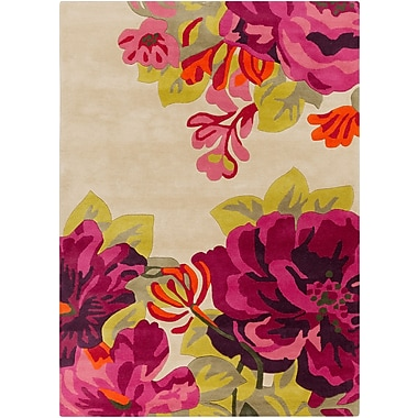 Surya Sanderson SND4507-58 Hand Tufted Rug, 5' x 8' Rectangle