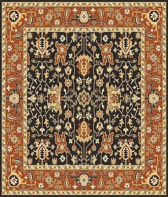 Surya Taj Mahal TJ6599-8SQ Hand Knotted Rug, 8' Square