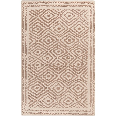 Surya Beth Lacefield Atlas ATS1006-58 Hand Knotted Rug, 5' x 8' Rectangle