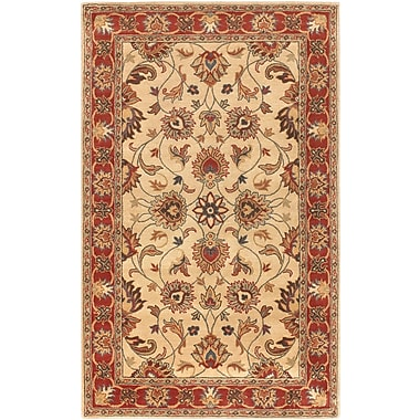 Surya Caesar CAE1001-58 Hand Tufted Rug, 5' x 8' Rectangle