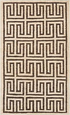 Surya Columbia CBA117-58 Hand Woven Rug, 5' x 8' Rectangle