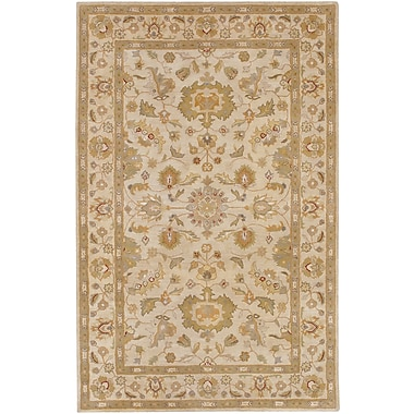 Surya Crowne CRN6011-58 Hand Tufted Rug, 5' x 8' Rectangle