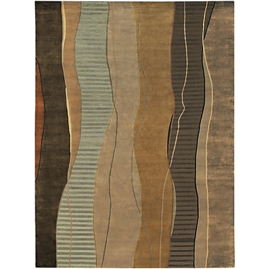 Surya Mugal IN8020-811 Hand Knotted Rug, 8' x 11' Rectangle