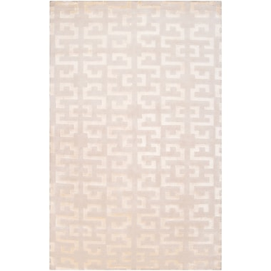 Surya Mugal IN8578-58 Hand Knotted Rug, 5' x 8' Rectangle