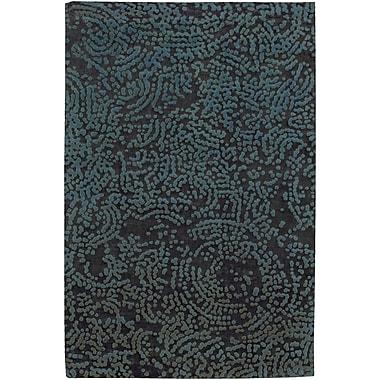 Surya Julie Cohn Shibui SH7413-46 Hand Knotted Rug, 4' x 6' Rectangle