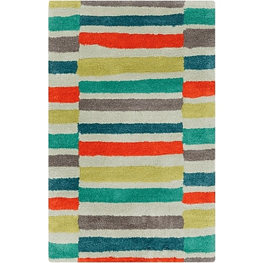 Surya Young Life YGL7008-23 Hand Tufted Rug, 2' x 3' Rectangle