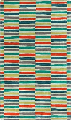 Surya Young Life YGL7008-58 Hand Tufted Rug, 5' x 8' Rectangle