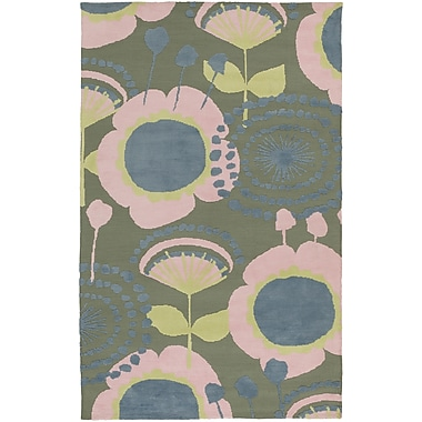 Surya Abigail ABI9034-58 Machine Made Rug, 5' x 8' Rectangle