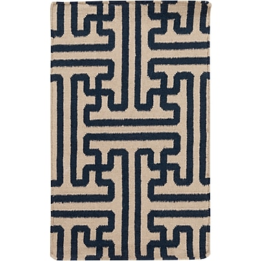 Surya Smithsonian Archive ACH1700-23 Hand Woven Rug, 2' x 3' Rectangle