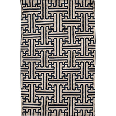 Surya Smithsonian Archive ACH1700-58 Hand Woven Rug, 5' x 8' Rectangle