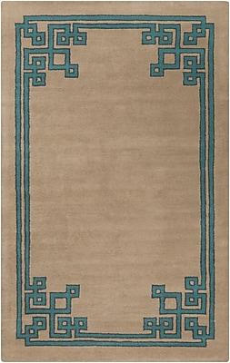 Surya Beth Lacefield Calaveras CAV4010-58 Hand Tufted Rug, 5' x 8' Rectangle