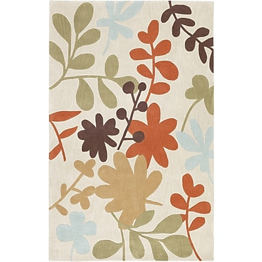 Surya Cosmopolitan COS8926-58 Hand Tufted Rug, 5' x 8' Rectangle