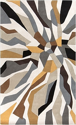Surya Cosmopolitan COS9200-58 Hand Tufted Rug, 5' x 8' Rectangle