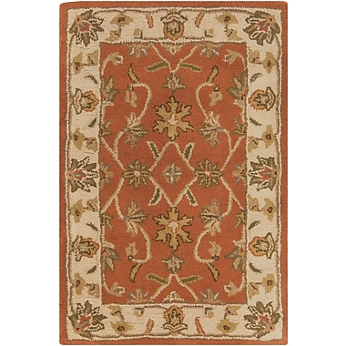 Surya Crowne CRN6002-23 Hand Tufted Rug, 2' x 3' Rectangle