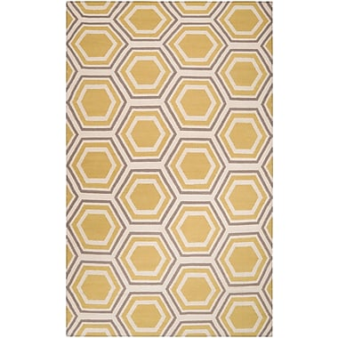 Surya Jill Rosenwald Fallon FAL1036-58 Hand Woven Rug, 5' x 8' Rectangle