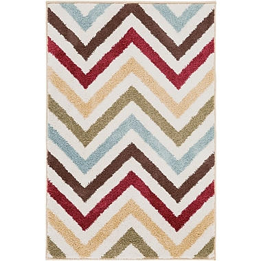 Surya Horizon HRZ1035-23 Machine Made Rug, 2' x 3' Rectangle