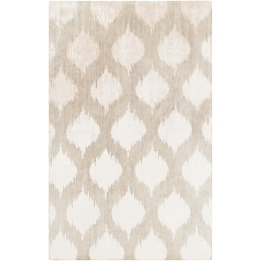 Surya Mugal IN8602-811 Hand Knotted Rug, 8' x 11' Rectangle