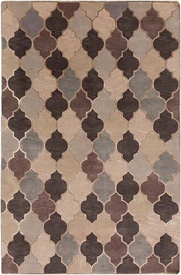 Surya Mugal IN8616-58 Hand Knotted Rug, 5' x 8' Rectangle