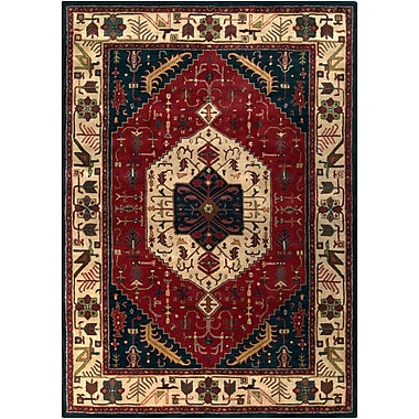 Surya Ancient Treasures A134-811 Hand Tufted Rug, 8' x 11' Rectangle