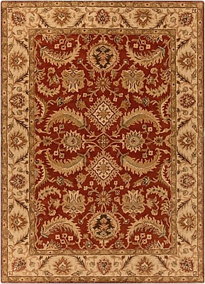 Surya Ancient Treasures A147-811 Hand Tufted Rug, 8' x 11' Rectangle