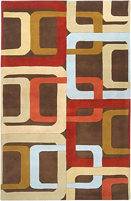 Surya Forum FM7106-58 Hand Tufted Rug, 5' x 8' Rectangle