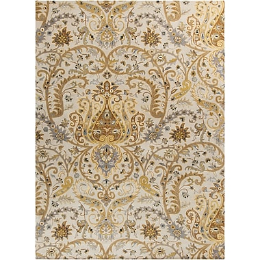 Surya Ancient Treasures A165-913 Hand Tufted Rug, 9' x 13' Rectangle