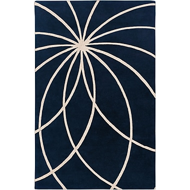 Surya Forum FM7186-58 Hand Tufted Rug, 5' x 8' Rectangle