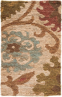 Surya Columbia CBA106-23 Hand Woven Rug, 2' x 3' Rectangle