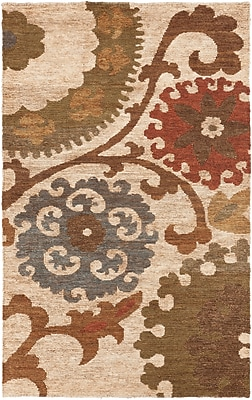 Surya Columbia CBA106-58 Hand Woven Rug, 5' x 8' Rectangle