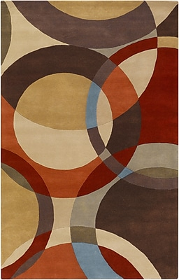 Surya Forum FM7108-58 Hand Tufted Rug, 5' x 8' Rectangle