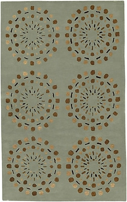 Surya Bombay BST428-58 Hand Tufted Rug, 5' x 8' Rectangle