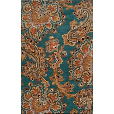 Surya Sea SEA168-58 Hand Tufted Rug, 5' x 8' Rectangle