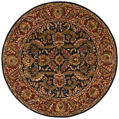 Surya Ancient Treasures A103-8RD Hand Tufted Rug, 8' Round
