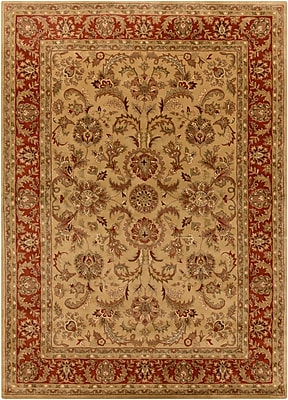 Surya Ancient Treasures A111-811 Hand Tufted Rug, 8' x 11' Rectangle
