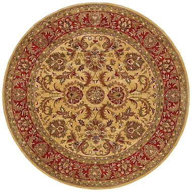 Surya Ancient Treasures A111-8RD Hand Tufted Rug, 8' Round