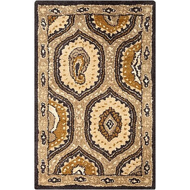 Surya Ancient Treasures A173-23 Hand Tufted Rug, 2' x 3' Rectangle