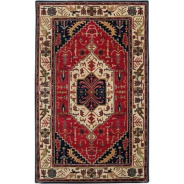 Surya Ancient Treasures A134-58 Hand Tufted Rug, 5' x 8' Rectangle