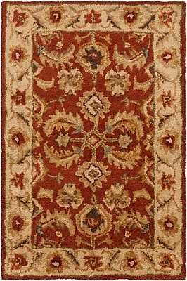 Surya Ancient Treasures A147-23 Hand Tufted Rug, 2' x 3' Rectangle