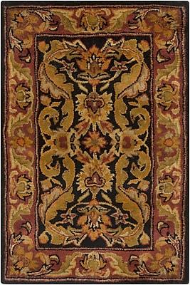Surya Ancient Treasures A103-23 Hand Tufted Rug, 2' x 3' Rectangle
