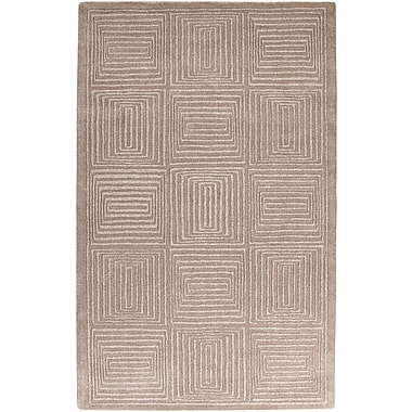 Surya Mystique M64-58 Hand Loomed Rug, 5' x 8' Rectangle