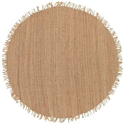 Surya J-8RDute Natural J8RD Hand Tufted Rug, 8' Round